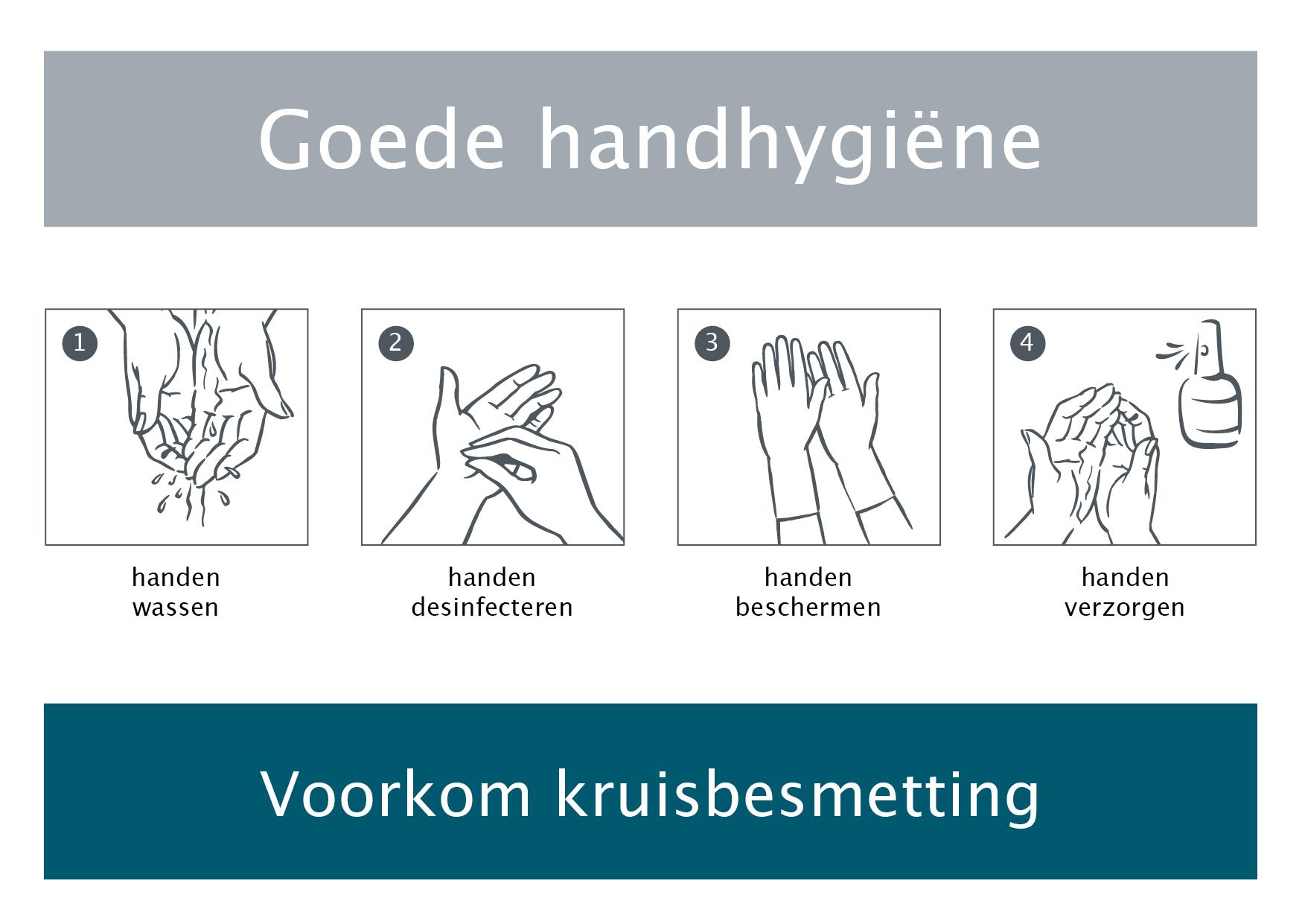 handen desinfecteren protocol
