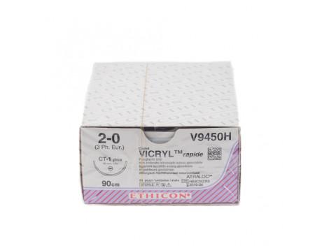 Rapide vicryl CT-1 naald draaddikte 2-0, V9450H