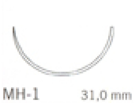 ETHICON HECHTDRAAD VICRYL USP3-0 MH-1 70CM VIOLET V245H STERIEL