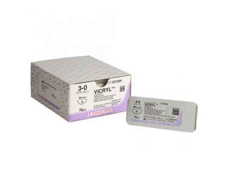 Vicryl SH naald draaddikte 3-0, V316H
