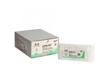Ethilon C-2 naald draaddikte 6-0, 667H