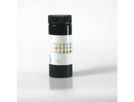 Urinetest eiwit/glucose/ph