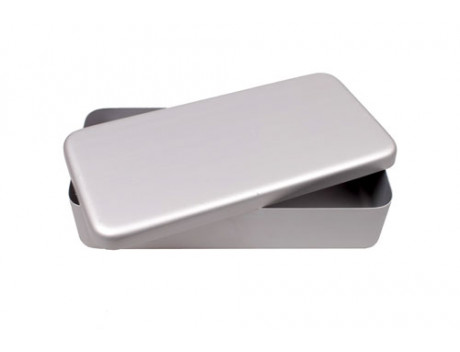 Instrumentendoos Aluminium 21 x 10 x 5 cm