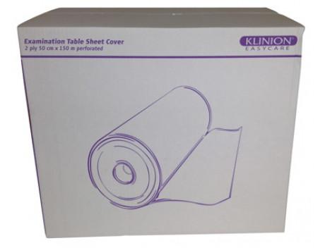 Klinion onderzoekbankpapier Tissue, 50 cm x 150 mtr, 2 laags
