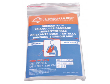 LIFEGUARD MITELLA NONWOVEN 136X96X96CM WIT H1 15803