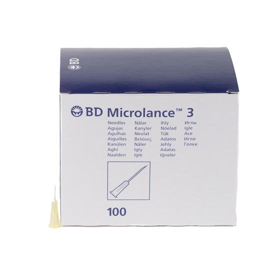 BD MICROLANCE 3 INJECTIENAALD 30G 13X0,3MM GEEL 304000 STERIEL