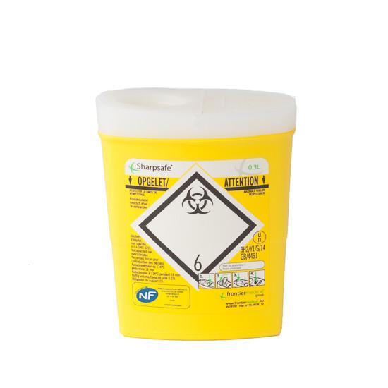 Naaldencontainer Sharpsafe 0,3 liter