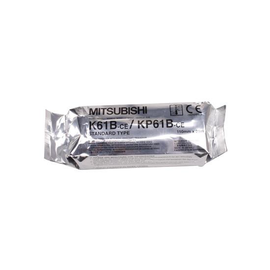MITSUBISHI PRINTERPAPIER K61B/KP61B 20MX110MM KP61B