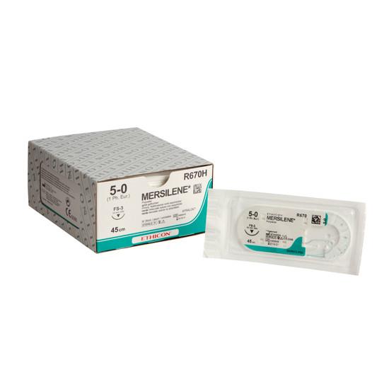 Mersilene FS-3 naald draaddikte 5-0, R670H