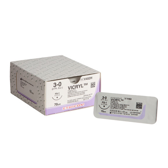 Vicryl FS-1 naald draaddikte 3-0, V452H
