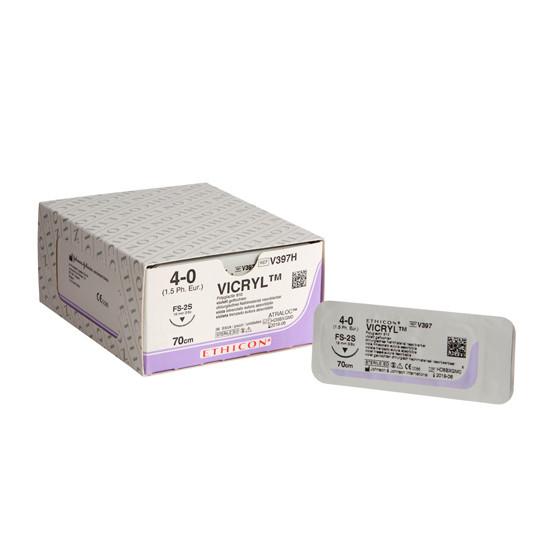 Vicryl FS-2S naald draaddikte 4-0, V397H