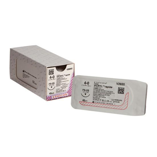Rapide vicryl FS-2S naald draaddikte 4-0, V2920G