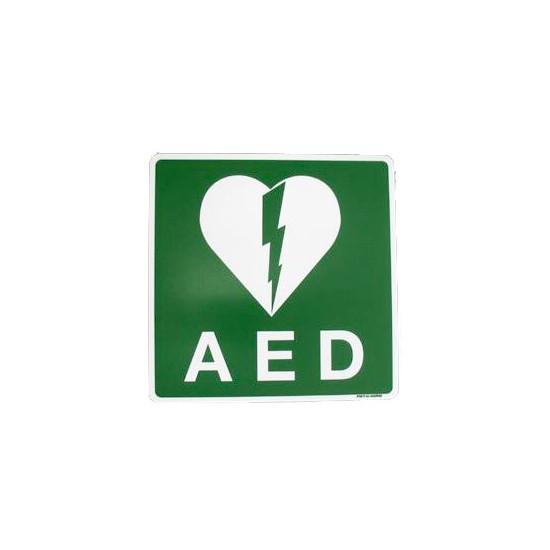 AED pictogram bordje 20 x 20 cm