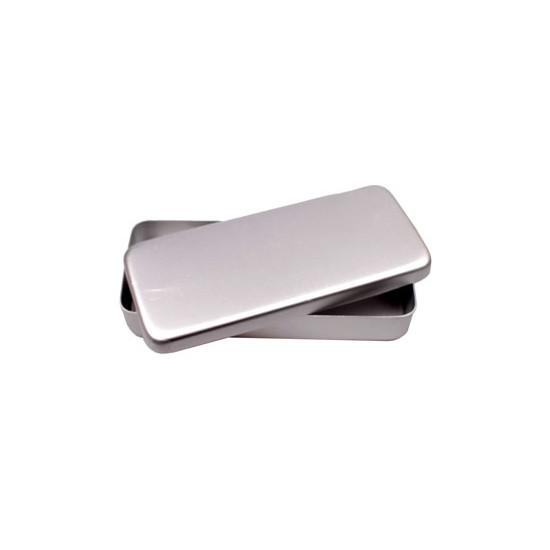 Instrumentendoos Aluminium 17 x 7 x 3 cm
