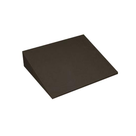 Wigkussen zwart, 40 x 50 x 12 cm