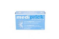 Mediprick lancet korte tip 0,9mm rvs steriel b2 0111 steriel