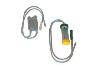 Unomedical slijmzuiger muco-safe. met filter. funnel aansluiting. extra dop ch10 17029182 steriel