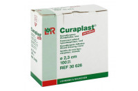 Curaplast sensitive wondpleister rond diameter 2.3cm 30626