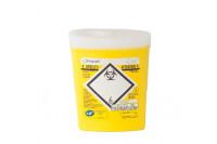 Sharpsafe naaldencontainer met volledige opening zonder afkoppeling 0,3 liter geel sha-41752610