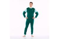 4care hansop xl tricot zonder voet met rugritssluiting en rits in het kruis groen 1011.576.xl