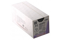 Ethicon hechtdraad vicryl m2 usp3-0 single armed fs-2 45cm violet v393g steriel