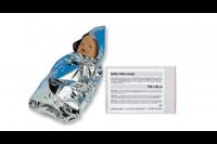 Sohngen swaddler baby met capuchon zilver soh703003