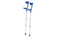 Armkruk aluminium 75-98cm belastbaar tot 130kg blauw meg 961902