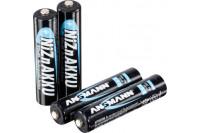Microlife oplaadbare batterij aaa 900mah 4stuks z990521-0