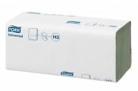 Papieren handdoek zigzag vouw 23x25cm naturel 1 laag 66329