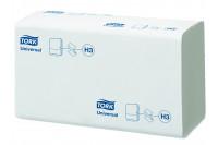 Tork papieren handdoek universal 1 laags singlefold h3 wit 290158