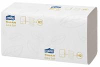 Tork xpress papieren handdoek extra soft 2 laags intergevouwen 34x21cm h2 wit 100297