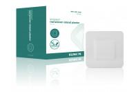 Klinion kliniplast nonwoven border waterdicht 6x7cm wit 40514200 steriel