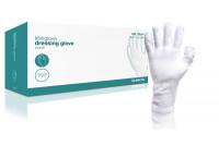 Klinion verbandhandschoen per paar verpakt 100% katoen s wit 170947