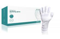 Klinion verbandhandschoen per paar verpakt 100% katoen l wit 170949