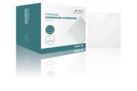 Klinion nw compres nonwoven kompres 10x10cm 4 lagen 20x5 st 175033 steriel