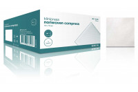 Klinion nw compres nonwoven kompres 10 x 10 cm 4 lagen 50 st ref 175035
