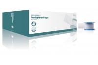 Klinion kliniplast transparant hechtpleister met ring 5mx2.5cm 294191