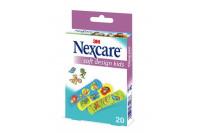 Nexcare soft wondpleisters assortiment kids 20st 7.2x1.9cm n0920nlw