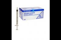 Terumo injectiespuit 3-delig luer. centrich 1 ml ss 01t1 steriel
