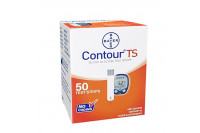 Contour ts teststrips bloedglucose 50st 84239658