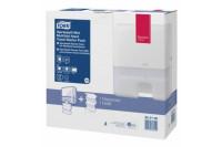 Tork dispenser handdoek xpress multifold mini starterpack inclusief 1 vulling h2 952100