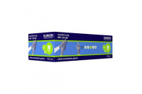 Klinion personal protection sensitive onderzoekshandschoen lang nitrile poedervrij m indigo 102485
