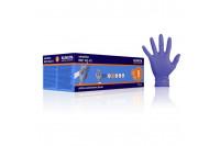 Klinion personal protection sensitive onderzoekshandschoen nitrile poedervrij s indigo 102471