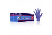 Klinion personal protection sensitive onderzoekshandschoen nitrile poedervrij xl indigo 102474