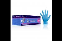 Klinion personal protection ultra comfort onderzoekshandschoen nitrilepoedervrij xs blauw 102606