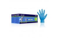 Klinion personal protection ultra comfort onderzoekshandschoen nitrilepoedervrij m blauw 102608