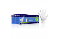 Klinion personal protection ultra comfort onderzoekshandschoen nitrile poedervrij l wit 102604