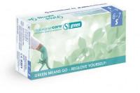 Semperit sempercare green onderzoekshandschoen nitrile poedervrij 240mm s groen 3000008208