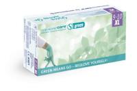 Semperit sempercare green onderzoekshandschoen nitrile poedervrij 240mm xl groen 3000008211