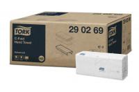 Tork papieren handdoek advanced 2-laags c-vouw 41,4x25cm h3 290269